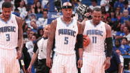 The Orlando Magic made three moves Saturday that enabled them to keep their most athletic player. By waiving wing Quentin Richardson, combo forward Justin Harper and wing Chris Johnson, the team created a space for undrafted rookie DeQuan Jones, an explosive wing who offers potential as a defender.