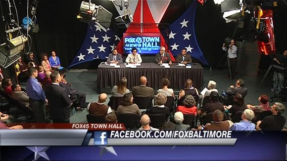 WBFF town hall meeting on Question 6