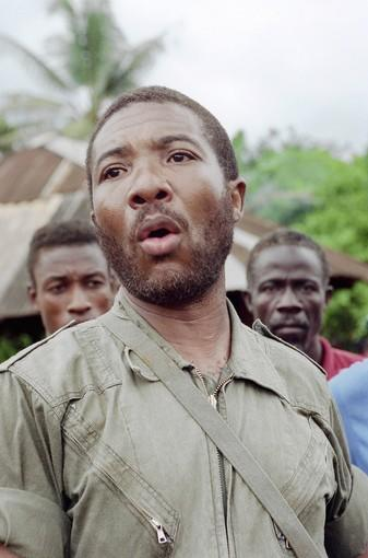 "Liberian rebel leader Charles Taylor's 1997 slogan -- ""He killed my ma, he killed my pa, but I will vote for him"" -- suggested that a civil war might be reignited if he was not elected president."