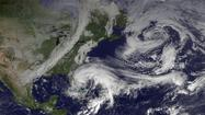 Pennsylvania remained squarely in Hurricane Sandy's cross hairs early Saturday, with the dangerous storm forecast to make landfall and combine with winter weather systems late Monday.