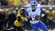 COLUMBIA, Mo. - Missouri got touchdowns off all three of Kentucky's lost fumbles and quarterback James Franklin presided over a strong finish in a reserve role coming off a knee injury as the Tigers earned a long-delayed first win in their debut SEC season with a 33-10 victory on Saturday.