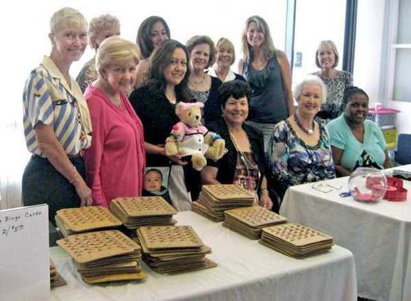 The Verdugo Hills Women's Council committee members coordinated the successful Bingo Luncheon that raised $2,000 for the hospital.