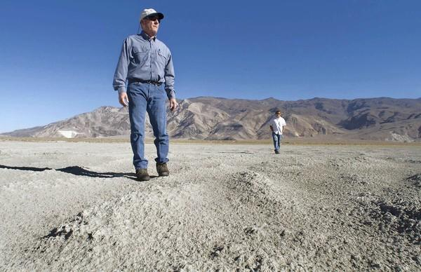 Ted Schade is air pollution control officer in the 110-mile-long Owens Valley. He has forced the Los Angeles Department of Water and Power to quell dust storms rising off the dry bed of Owens Lake, which L.A. drained to slake its thirst.