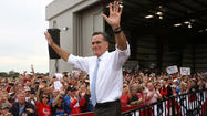 Romney on early voting, hurricane and his Massachusetts record