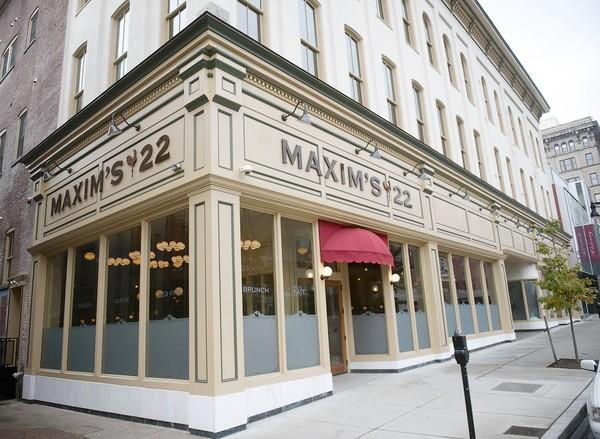 Maxim's 22 Bistro and Brasseries, owned by Josh Palmer, opened in Easton on Tuesday.