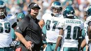 — Six games into a season Philadelphia Eagles coach Andy Reid has been pointing to forever, his team is faced with a crucial test it must pass just to keep his fading dream from dissolving to reveal a landscape in which he fails to make the playoffs two years in a row for the first time in his career.