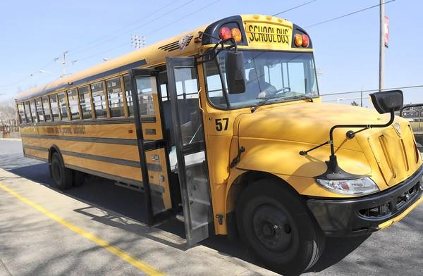 An Easton Area School District bus.