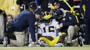 LINCOLN, Neb. -- With Michigan quarterback Denard Robinson out of the game, Nebraska found a much clearer path to the top of the Big Ten Conference's Legends Division.