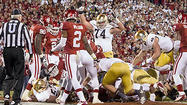 Both Notre Dame and Oklahoma play like champions