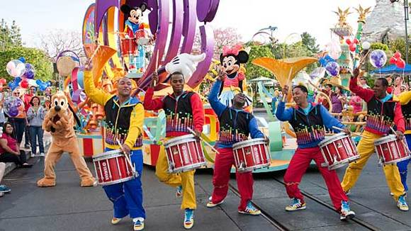 'Mickey's Soundsational Parade' at Disneyland