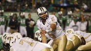 Blake Bortles completed 12 of his final 13 passes for 219 yards and two touchdowns in the Knights' 54-17 win.