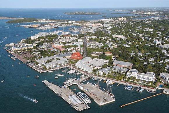 Key West from above