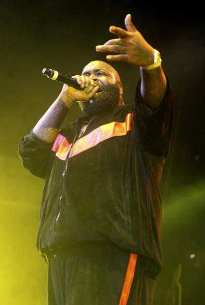 Rick Ross performs at the Power 99 Powerhouse 2012 concert at Wells Fargo Center in Philadelphia on October 26.