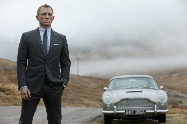 "Daniel Craig stars as James Bond in ""Skyfall,"" which is already off to a strong start overseas."
