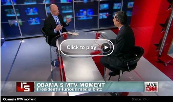 CNN's Reliable Sources: David Zurawik says Jay Leno rolled over for President Obama in last week's interview