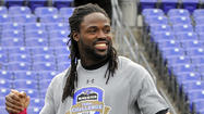 Torrey Smith was convinced that Anquan Boldin was still in the building. He didn't see him in the Ravens' locker room, but he heard his voice, first coming from the equipment area and then from the training room. But as Smith pulled on his uniform and prepared for a recent practice, Boldin's voice became more distant.