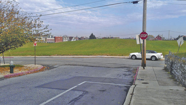 Hager Street, near the site of the former Washington County Hospital, no longer has '2 Hour Parking' signs.