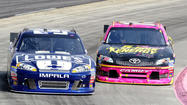 Johnson wins at Martinsville, takes points lead; Bowyer is fifth, up to third in the points