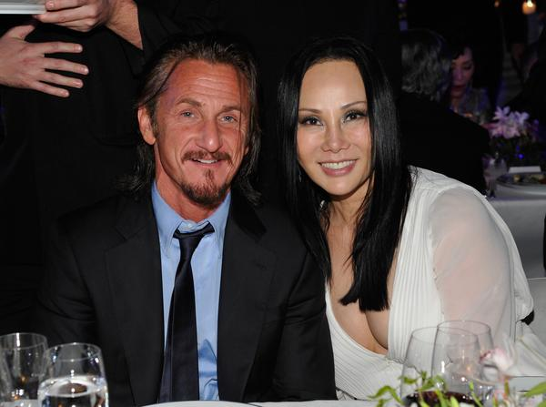 Sean Penn and LACMA Art + Film Gala Co-Chair Eva Chow.