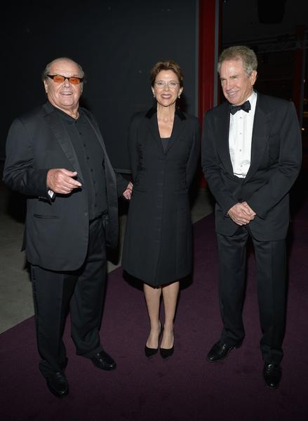 Jack Nicholson, Annette Bening and Warren Beatty.