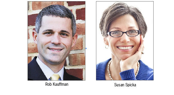 Rob Kauffman and Susan Spicka