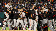 Giants win 2nd World Series in 3 years