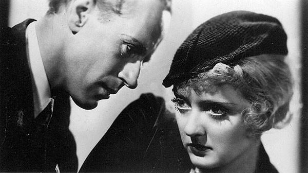 "The British actor (pictured here with Bette Davis) and Davies, as a dime store heiress, turned on the charm in the soapy 1931 romance ""Five and Ten."""