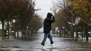 Hurricane Sandy is speeding up as it approaches the New Jersey coastline and expected to make landfall in the early evening instead of late Monday night as previously predicted.