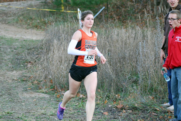 Harbor Springs senior Rhi Cullip won the Division IV regional girls individual title as she finished in 19 minutes, 32.6 seconds to lead the Rams to the regional crown.
