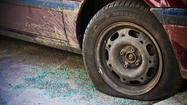 "<span style=""font-size: small;"">WHITE PIGEON, Mich. (AP) — Authorities say a pickup truck with four flat tires that hadn't run for five or six years was reportedly targeted by thieves in southwestern Michigan.</span>"