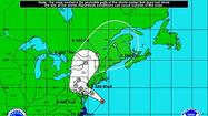 Hurricane Sandy is projected to lose tropical characteristics just before landfall.
