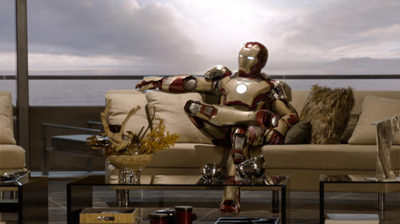 A scene from ¿Iron Man 3.¿