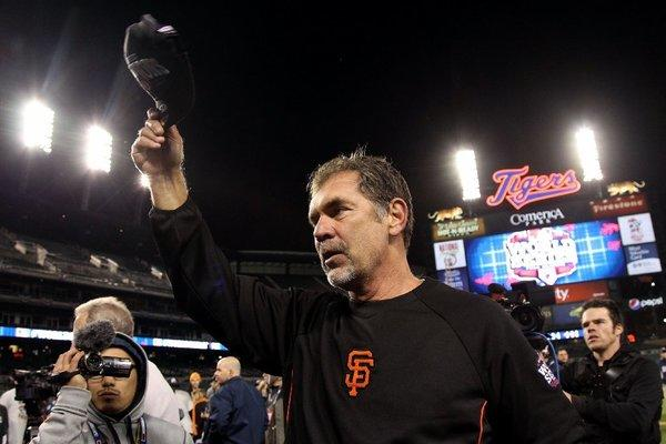 Bruce Bochy has won two World Series in the last three years.