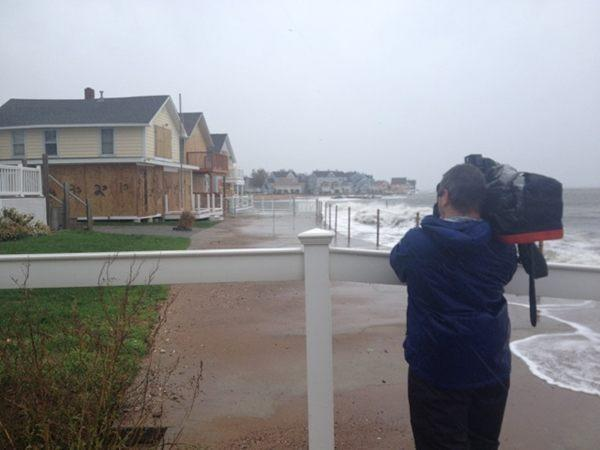 National Guard will deploy to East Haven's Cosey Beach area. Flooding underway.