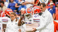 UF receiver Solomon Patton is out for the season after suffering a broken arm during the Gators' 17-9 loss to Georgia in Jacksonville Saturday.