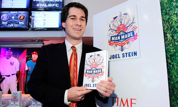 """Mad Made"" author Joel Stein, shown in New York City, says Chicago is high on his list of manly cities."