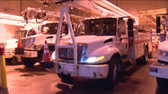 Dozens of I&M crews leave Michiana to help Sandy victims