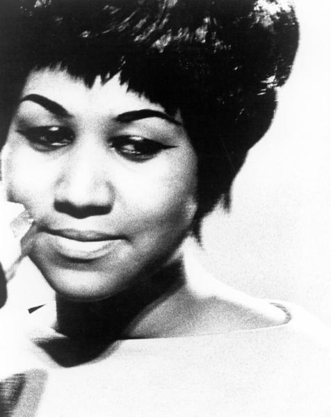 Soul singer Aretha Franklin poses for a portrait in circa 1965.