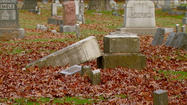 South Bend historic cemetery vandalized