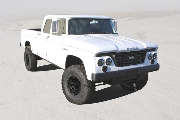 ICON's one-off Power Wagon D200 Reformer.