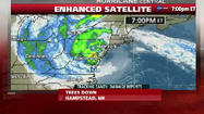 Hurricane Sandy makes landfall; rains, waves hammer East Coast
