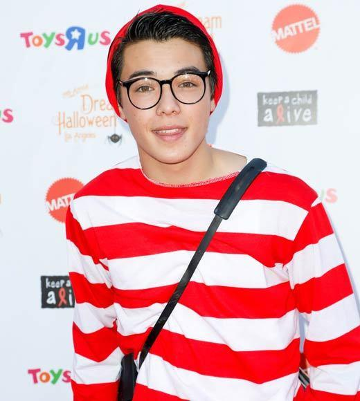 Celebrity Halloween costumes 2012: Actor Ryan Potter