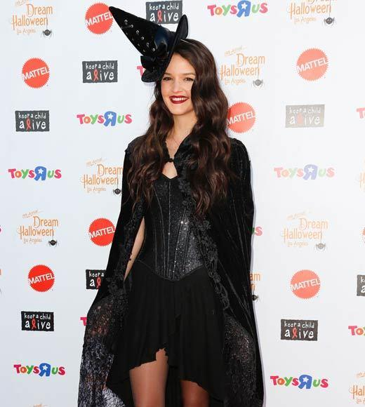 Celebrity Halloween costumes 2012: Actress Chelsea Ricketts
