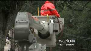 Entergy sending additional crews to the northeast to repair Sandy's damage