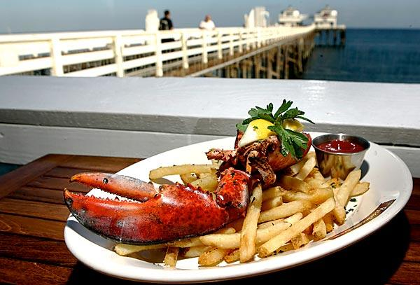 The Malibu Beachcomber's $14.95 lobster dinner special