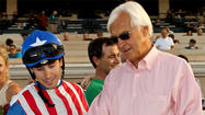 "Bob Baffert is flat on his back and hears those around him saying he has the ""widow maker,"" like he doesn't already know his chest is killing him."