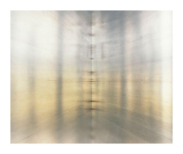 "Luisa Lambri's ""Untitled (100 Untitled Works in Mill Aluminum, 1982-1986, #03),"" 2012, Laserchrome print."