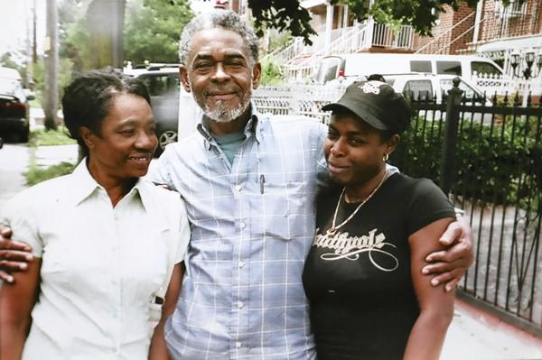 Homicide victim Fitz Bariffe, center, is seen with his sister Blossum Bariffe, left, and his daughter Blossum Bariffe. The 68-year-old man was slain Sunday, the city's 435th homicide victim of 2012.