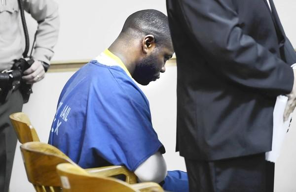 Jade Douglas Harris was arraigned Monday in Downey. He was released from lockup in July after serving time for second-degree robbery.