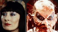 The hidden horror: Angelica Huston in 'The Witches'